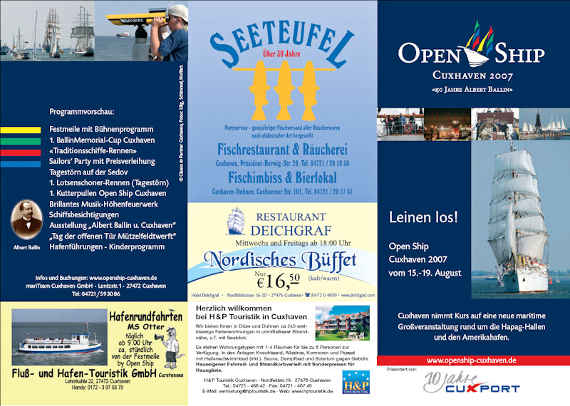 Open Ship Cuxhaven 2007 Flyer